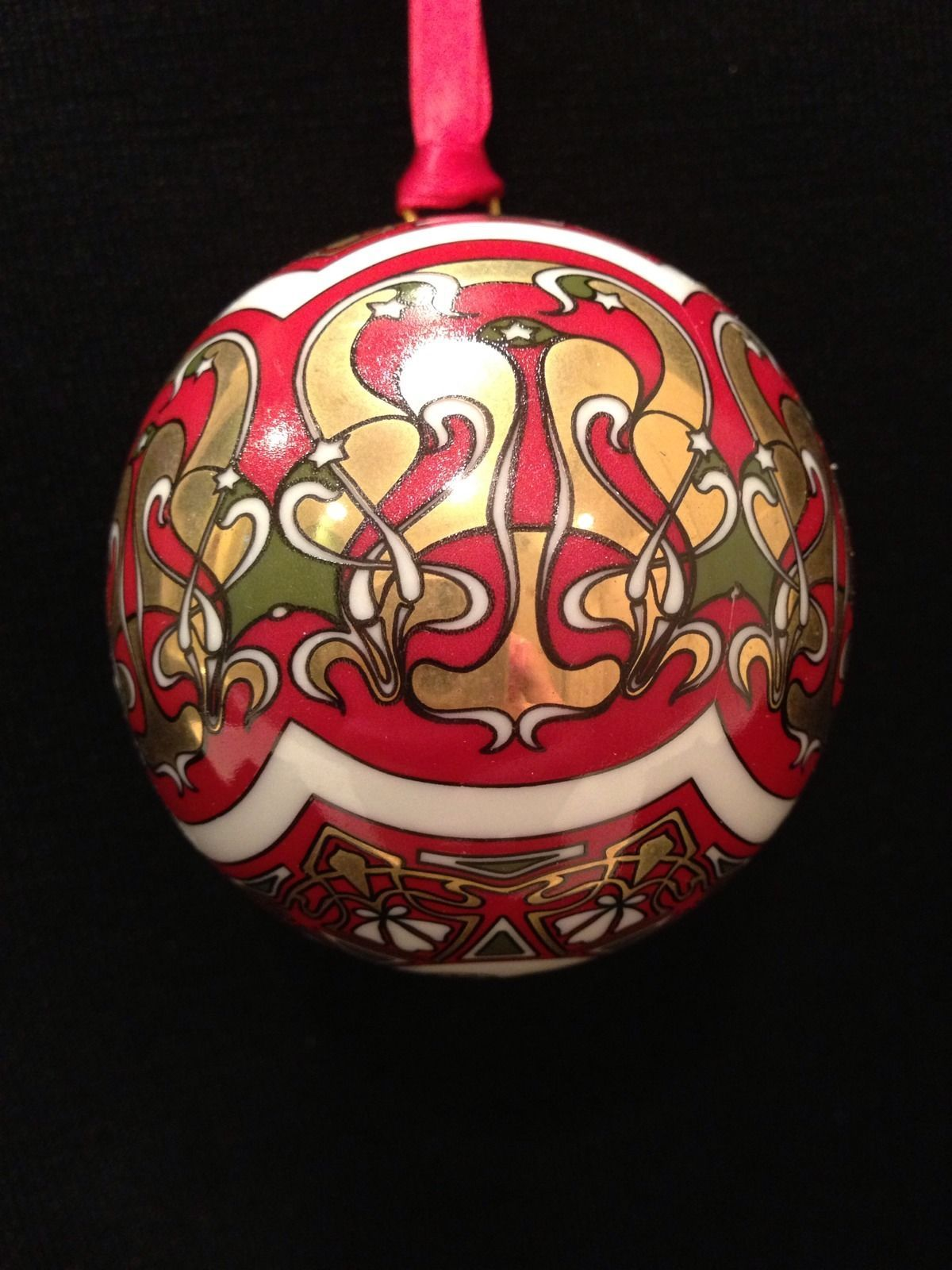 Hochst Porcelain Ornament Art Nouveau Made In Germany Nib