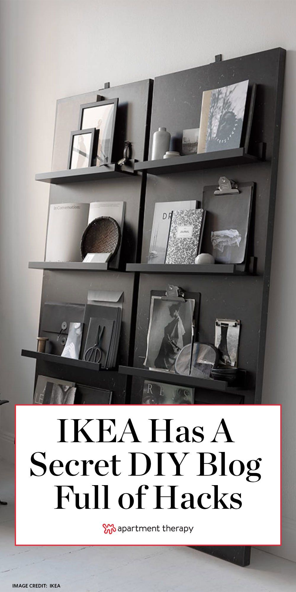 "Photo of IKEA Has a ""Secret"" Blog Devoted to Hacks, and It's a DIY Dream"