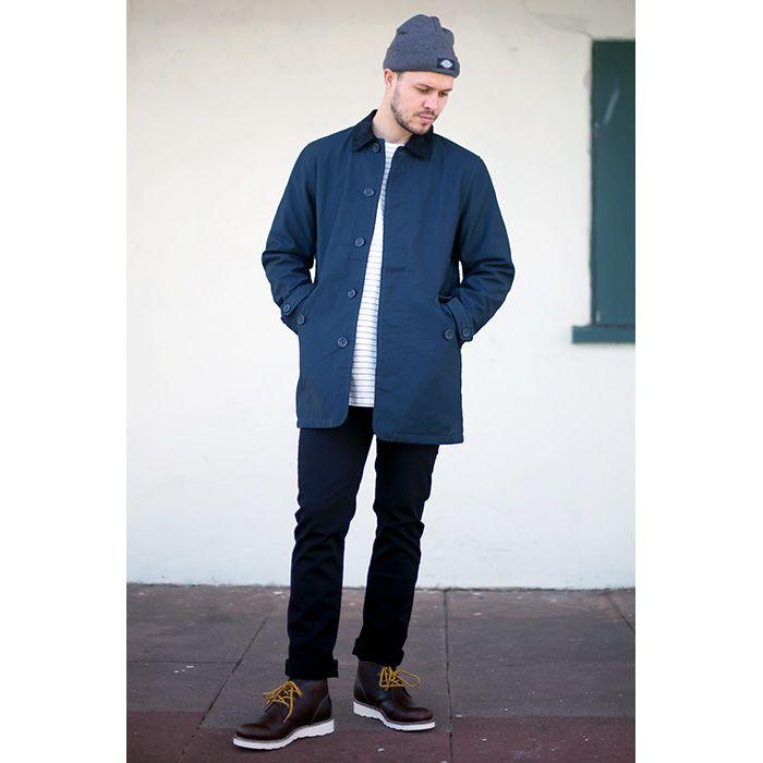 ce5fa69997b6d ... CARHARTT HARRIS TRENCHCOAT - £159.95 T-Shirt  PUBLISH CRANE T-SHIRT -  £44.95 Jeans  LEVI S 511 JEANS - £79.95 Shoes  DICKIES NEBRASKA BOOTS -  £119.95