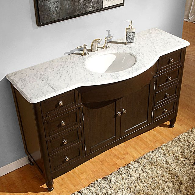 Bathroom Vanity 18 Inch Depth With Images Marble Bathroom