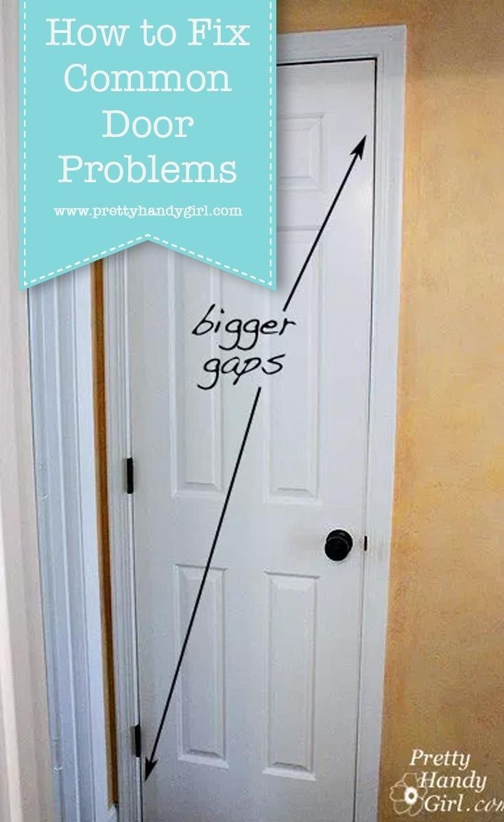 Fix common door problems with these tutorials from pretty
