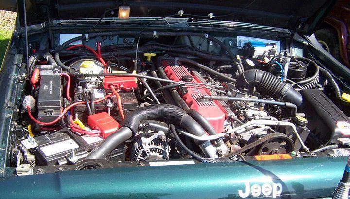 My Xj Engine Bay Jeep Xj Jeep Engineering
