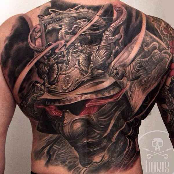 Samurai Tattoos - Click the picture for more - #Tattoo # Idea