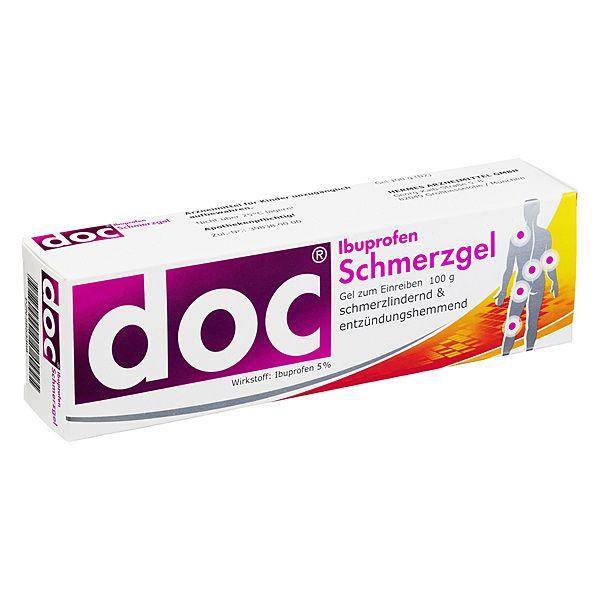 doc Ibuprofen Schmerzgel, 100 g | PZN: 5853368 | WIRKSTOFF: Ibuprofen | HERSTELLER: HERMES Arzneimittel GmbH | • Bei Rücken-, Muskel- und Gelenkschmerzen • Präzise: Zielgenau mit Tiefenwirkung • Schnell: Wirkschnell durch Microgel • Verträglich: Keine unnötige Belastung des Organismus >> http://www.juvalis.de/5853368/doc-ibuprofen-schmerzgel << #Apotheke #Arzneimittel #Medikamente #Schmerzgel