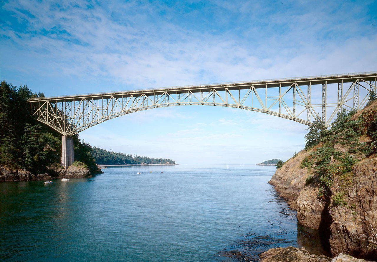 The State Department Of Transportation Announced Plans This Week To Place Toll Booths On Dece Deception Pass Island County National Register Of Historic Places