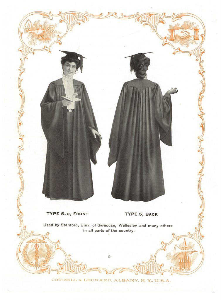 The Season Of Caps And Gowns Smithsonian Libraries Unbound Cap And Gown Gowns Graduation Gown