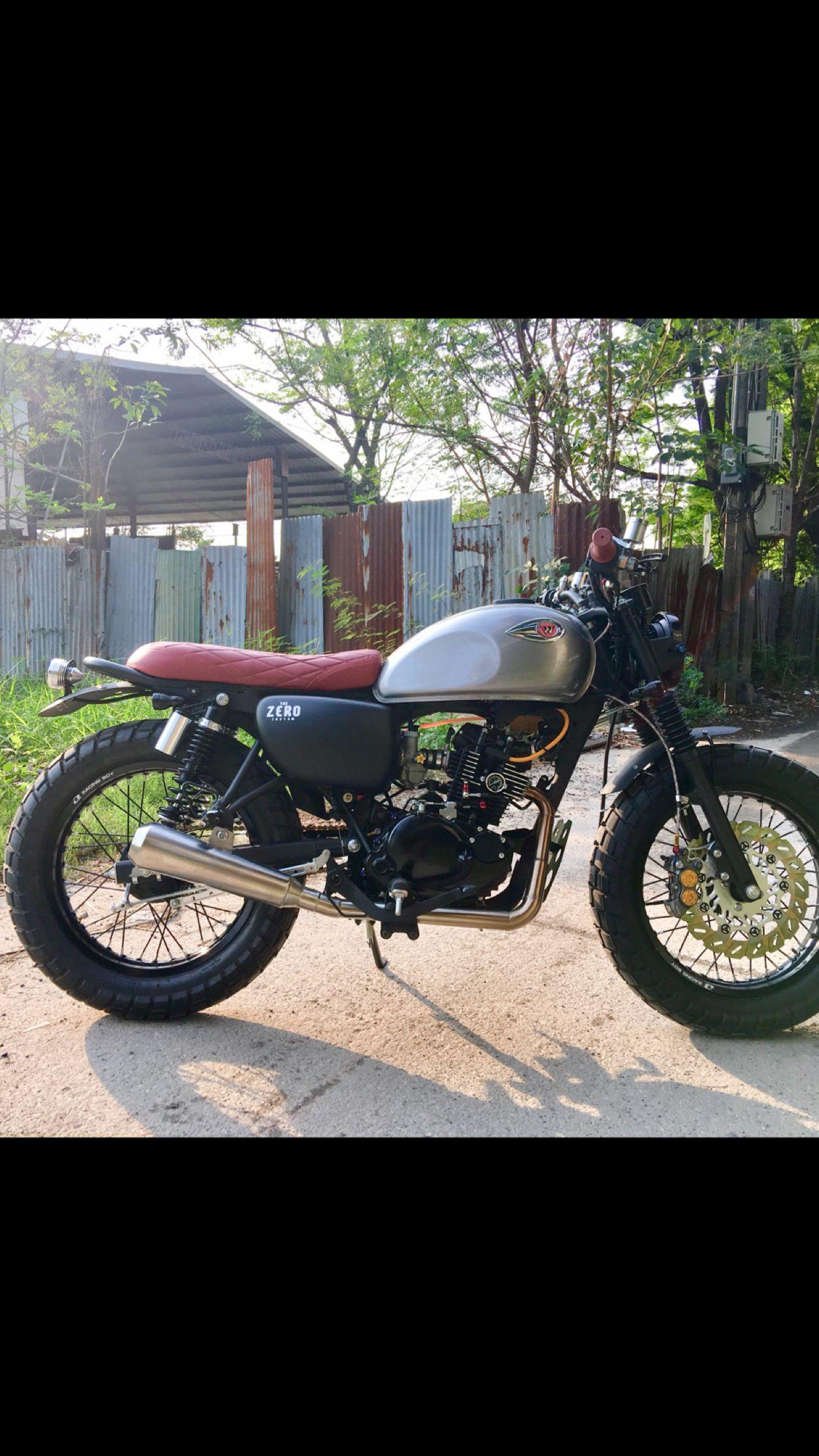 Kawasaki W175 Tracker By Zero Custom Zero Custom Custom Bikes
