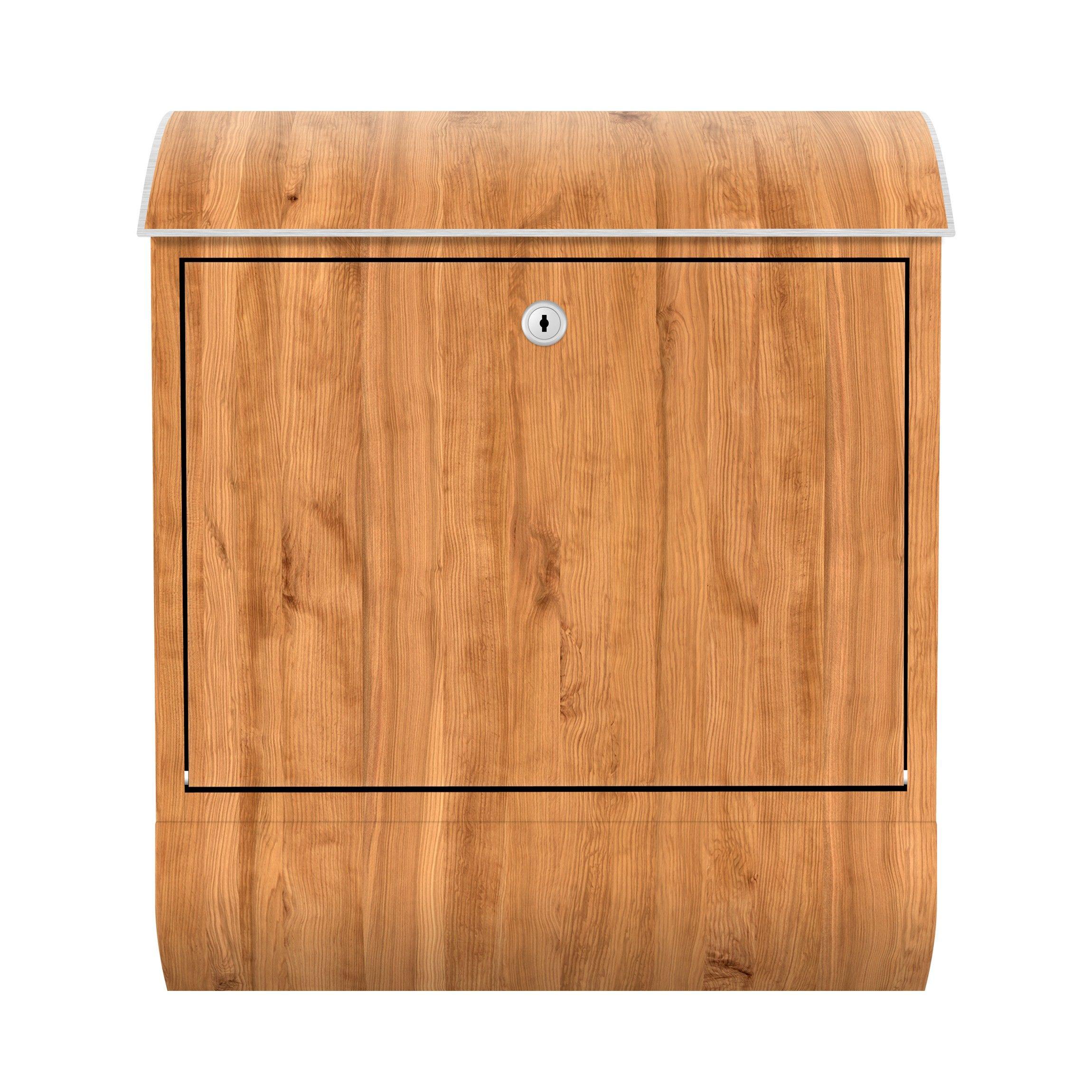 Briefkasten Holz Libanon Zede Holzoptik Wandbriefkasten Braun Briefkasten Holz Briefkasten Design Briefkasten