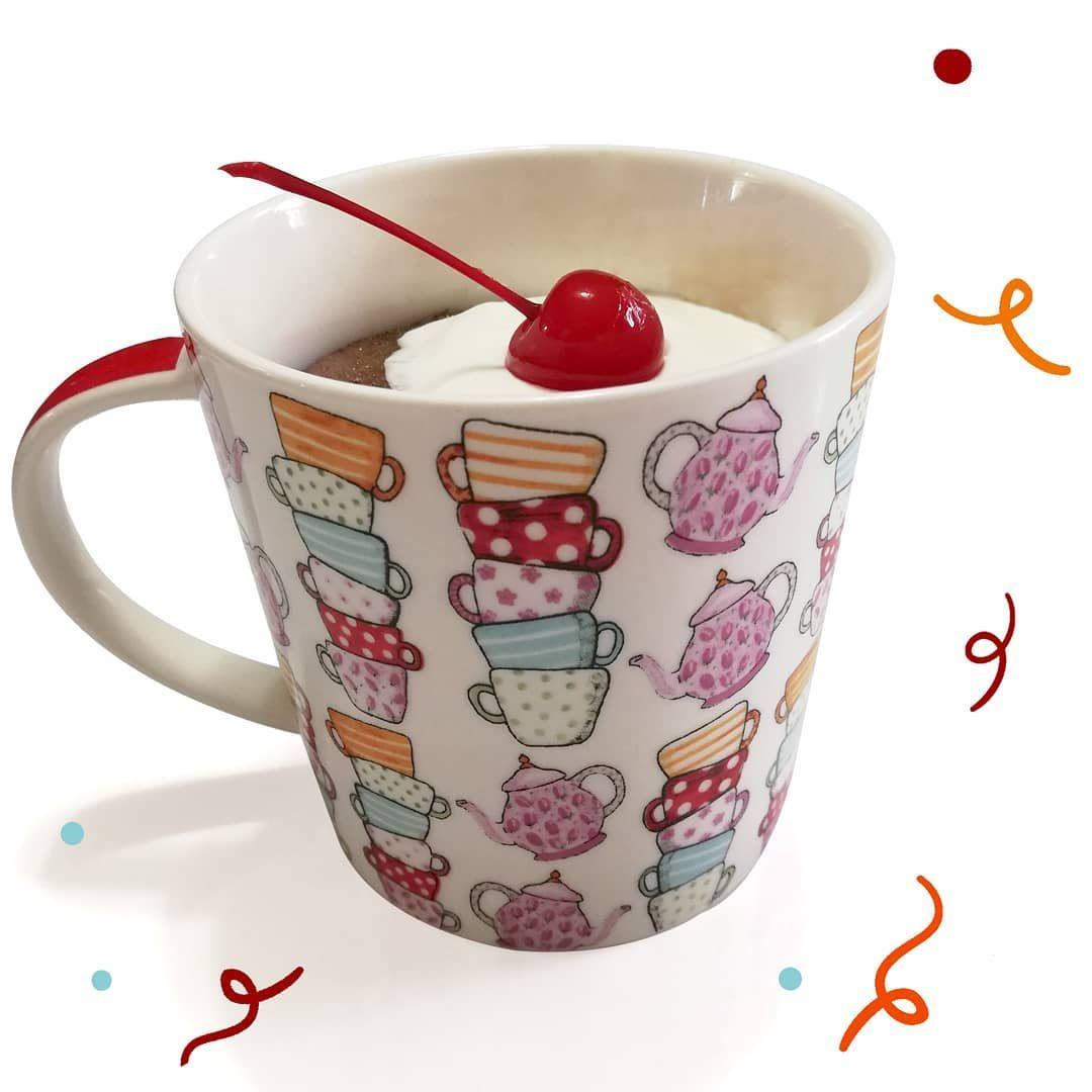 Anotherday, another Mug Cake ☕🍫 . . . . . .