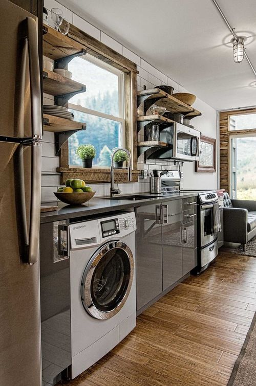 Kitchen Interior Of Freedom Shipping Container Home 80 000