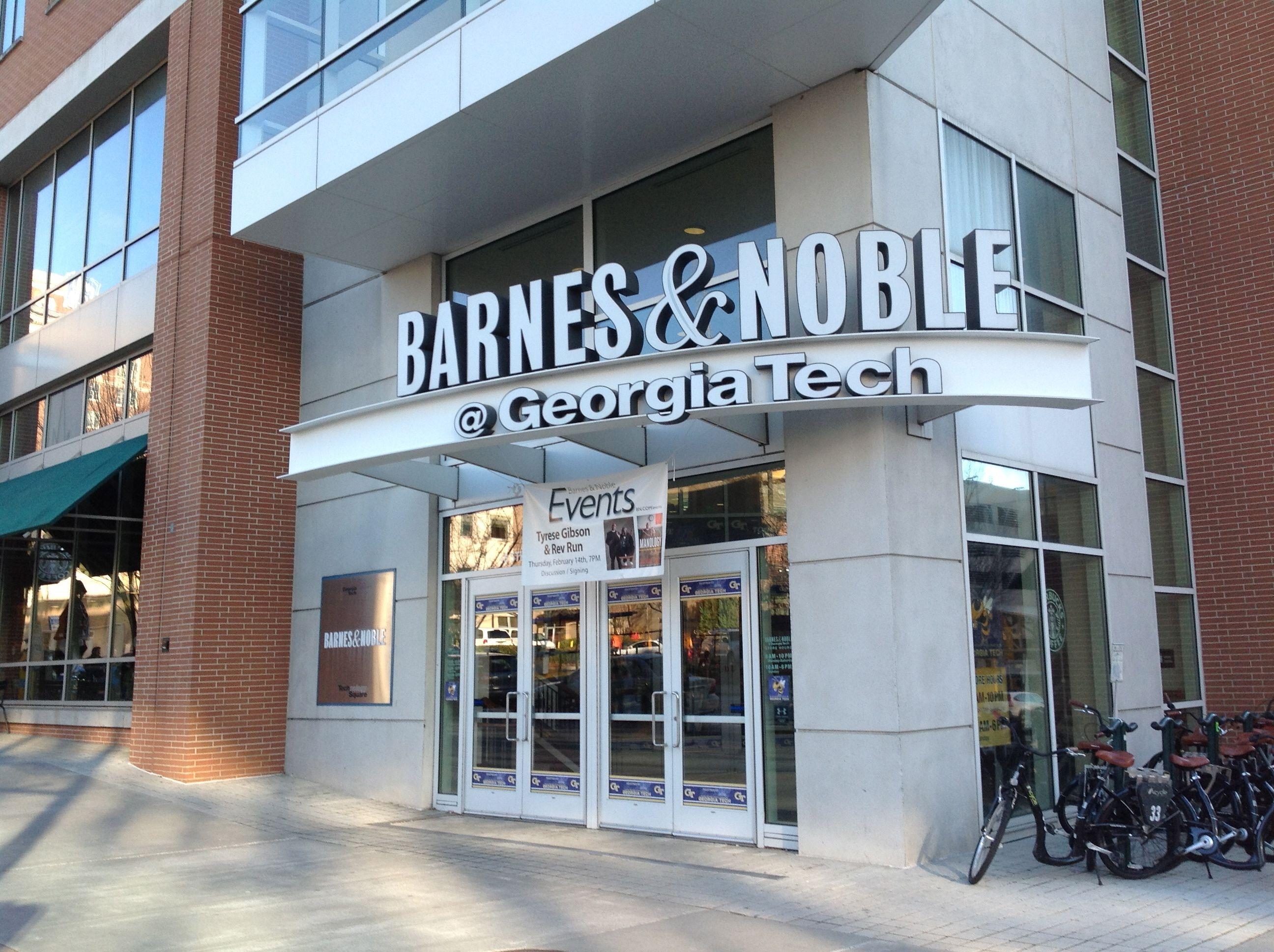Barnes And Noble And Georgia Tech Bookstore In Tech Square