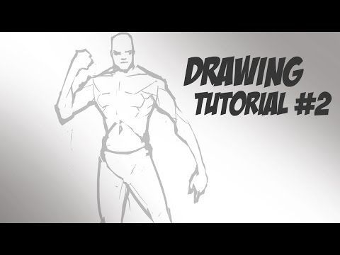 Drawing Tutorial #2 - Human Body Guidelines - YouTube