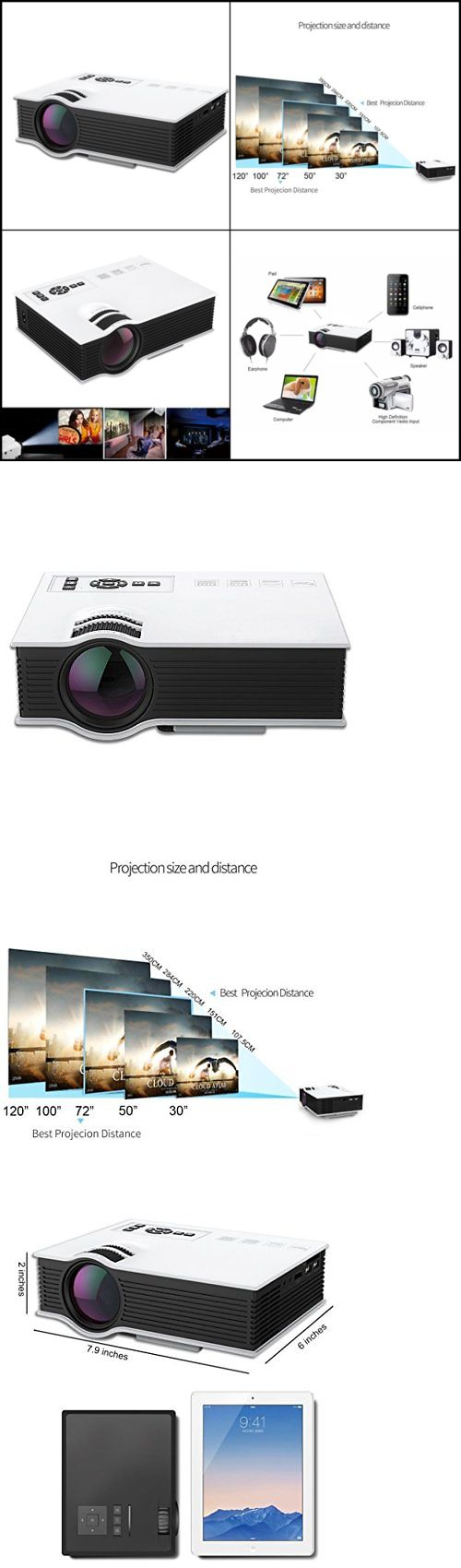 Projection Screens and Material: New Outdoor Movie Screen Portable ...