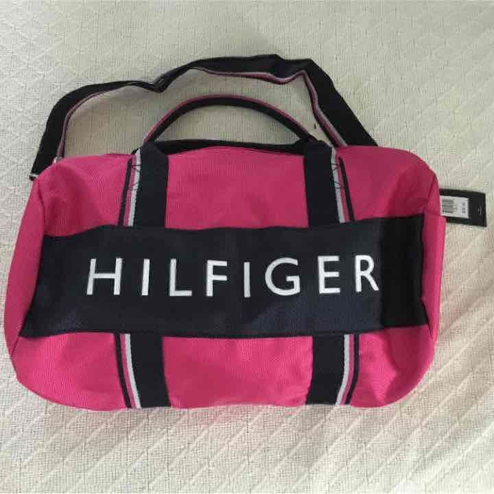 Bag Tommy Hilfiger Small Pink Duffle