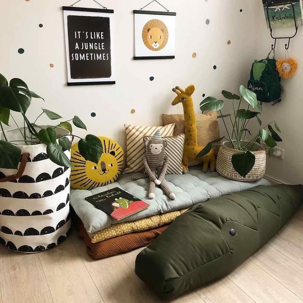 44++ Deco jungle chambre fille ideas