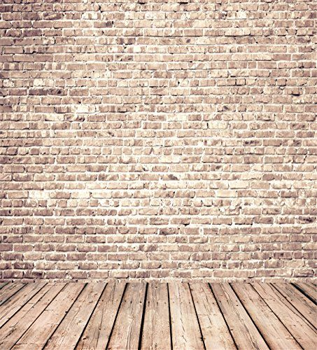 10x10 Retro Brick Wall Photography Backdrops Gray Wood Fl Https Www Amazon Com Dp B01n056gif Ref Fundo Fotografico Fundo Para Fotos Cenarios De Fotografia