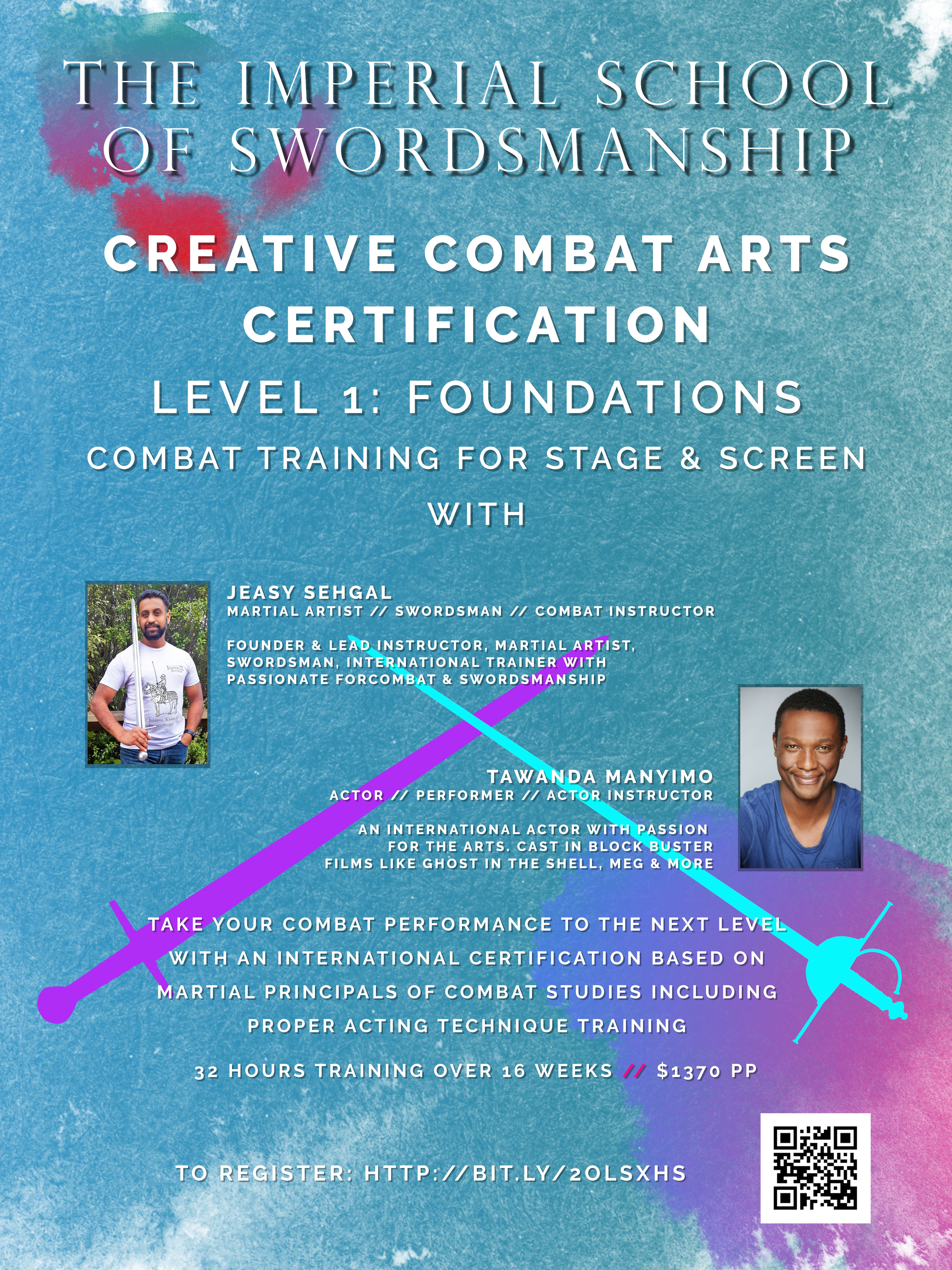 Creative Combat Arts Certification For Stage Screen In New Zealand
