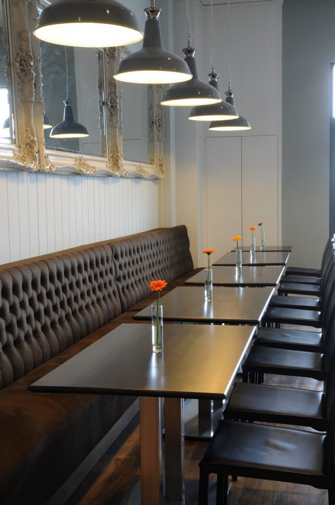 Recent Banquette & Booth Seating Projects | Penwith Upholstery