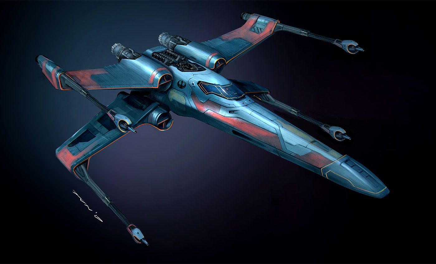 Digital Illustrations Concept Art By Pete Norris Inspiration Grid Star Wars Ships Design Star Wars Ships Star Wars Spaceships