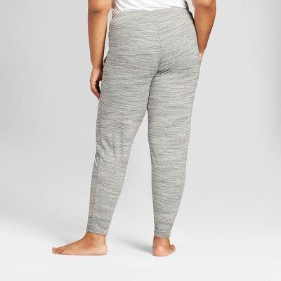23496a16b Women s Plus Size Sleep Pants - Ava   Viv Gray 3X