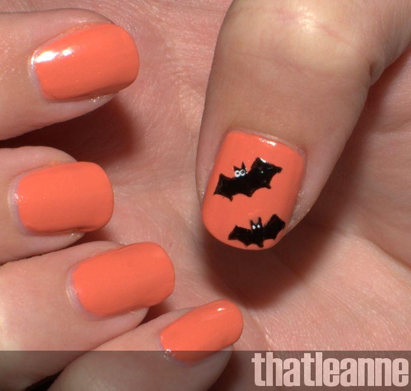 Thatleanne Simple Halloween Nail Art Ideas Halloween Nail Art Easy Halloween Nails Easy Halloween Nail Art