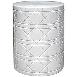 White garden stool....can i make out of clay for my tiny little house?