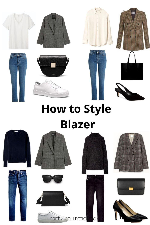 How to style blazer