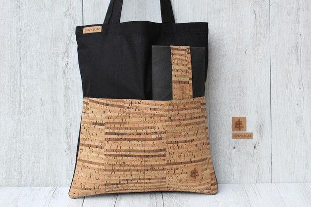 shopper biobag aus baumwolle in schwarz 2. Black Bedroom Furniture Sets. Home Design Ideas