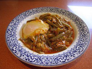 La cocina de Maite: JUDIAS VERDES ESPARRAGADAS | legunbres y