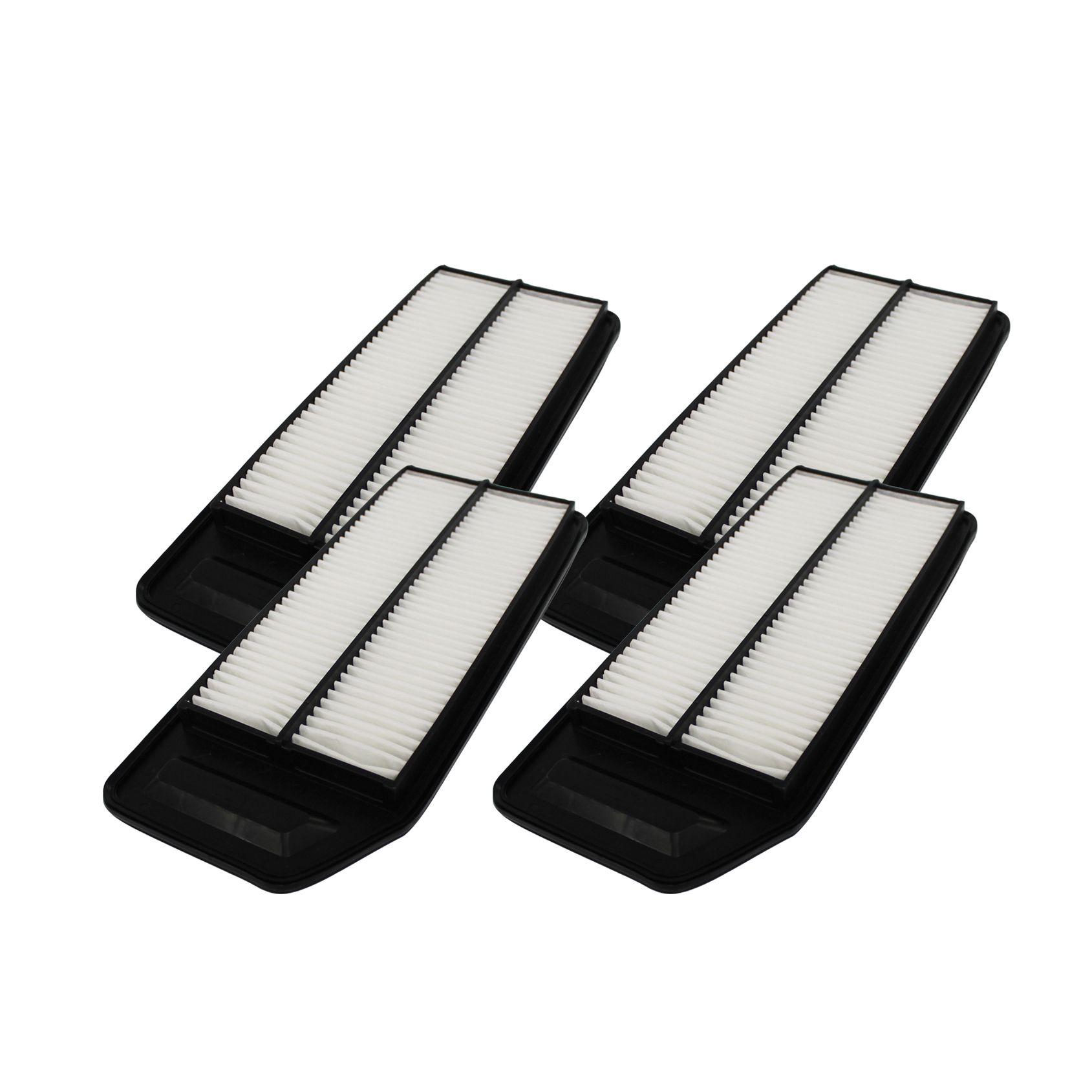 Crucial 4 Rigid Panel Air Filters Fit Acura And Honda