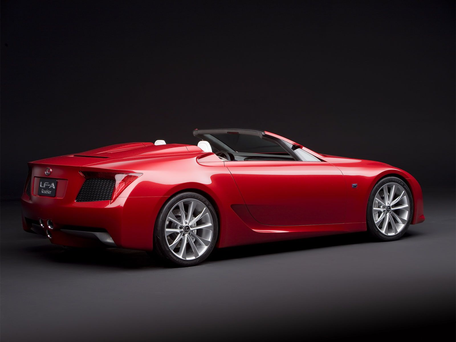2008 Lexus LFA Roadster Concept My Wifes Dream Car