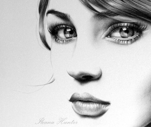 Tanita Detail By IleanaHunterdeviantartcom On DeviantART - 22 stunning hype realistic drawings iliana hunter