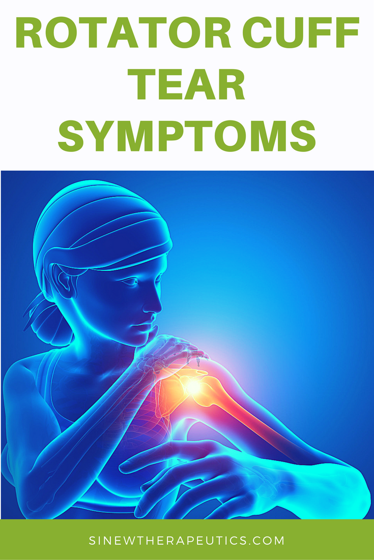Common Symptoms Of A Rotator Cuff Tear Are Swelling