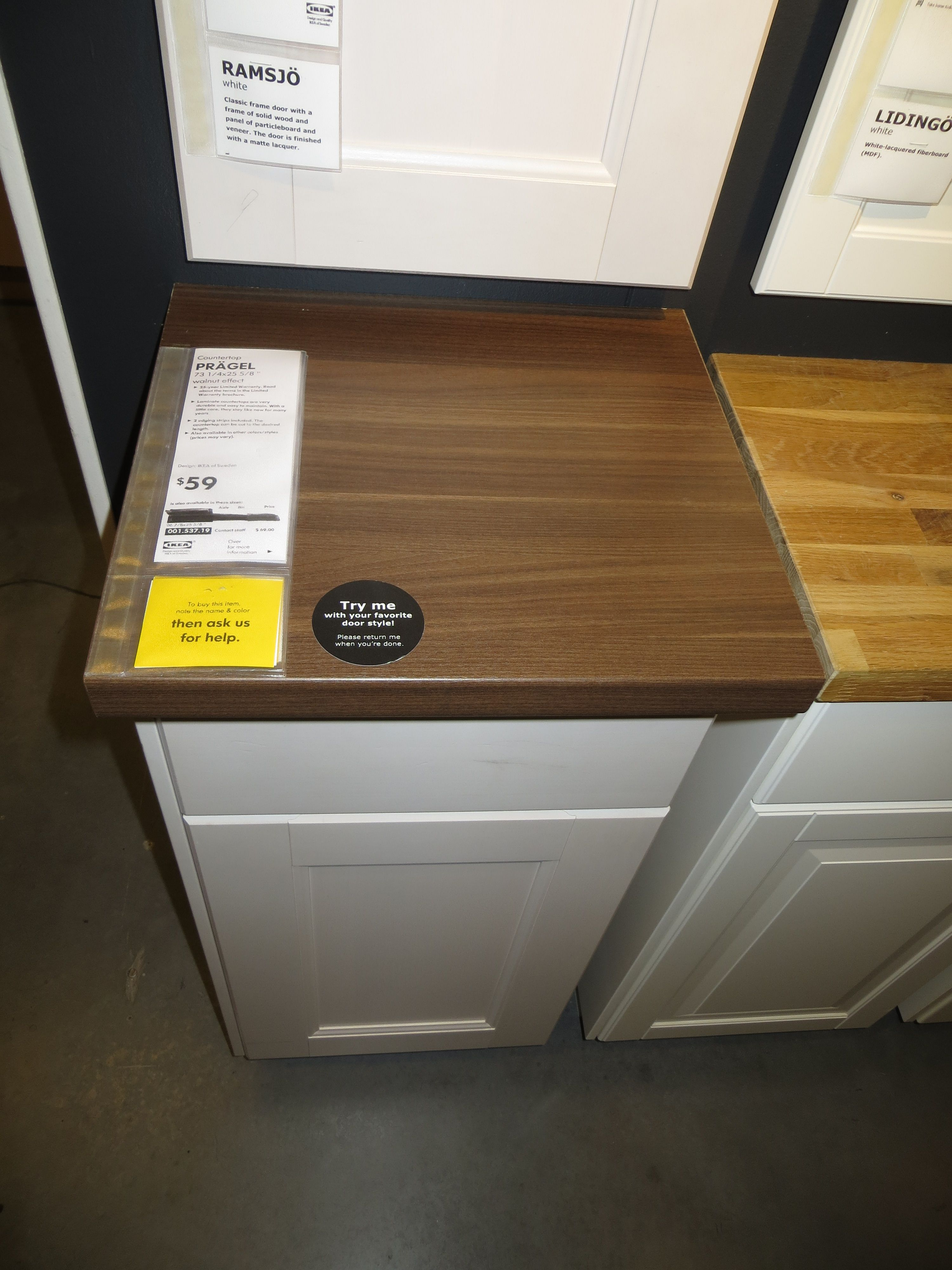 Ikea Pragel Wood Countertop Remodel Pinterest Countertop Woods And Diy Countertops