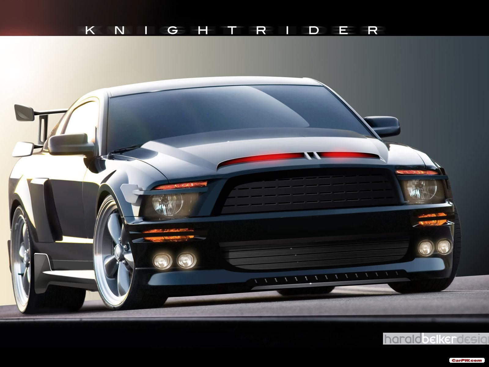 Knight rider k i t t ford mustang shelby gt500