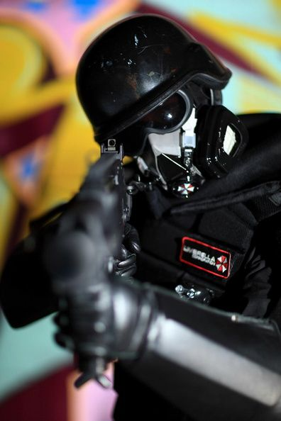 Resident evil, cosplay, cosplay for charity, Umbrella Corp Denver