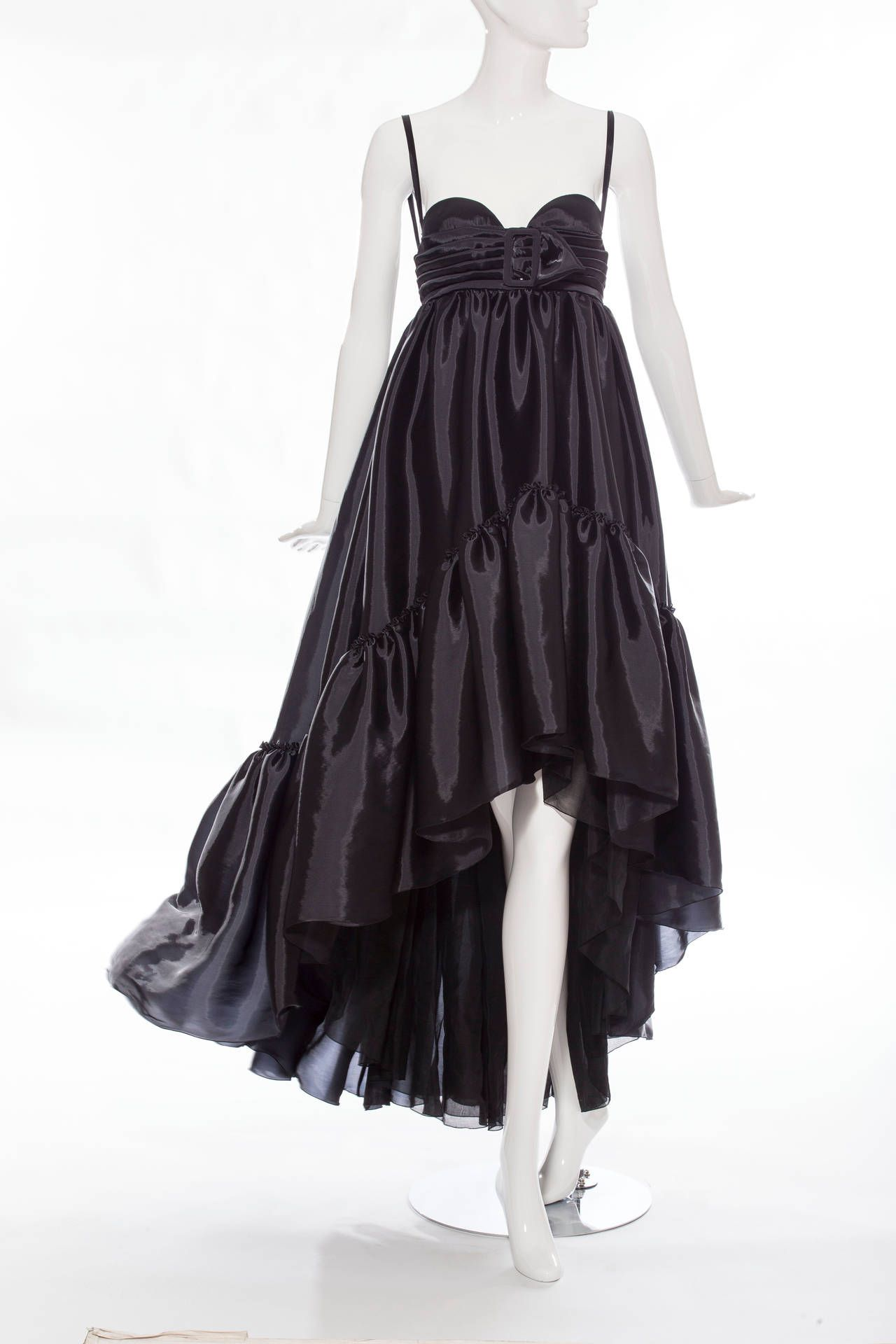 Jean Paul Gaultier Circa 1990s | From a collection of rare vintage evening dresses at https://www.1stdibs.com/fashion/clothing/evening-dresses/