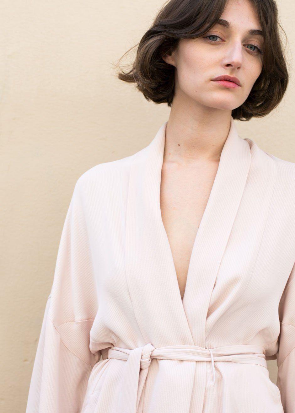 75a10dfca5  Rodebjer  Pink  Sand  Anahi  Viscose  Kimono  Jacket  Thefrankieshop   frankiegirl Rodebjer Pink Sand Anahi Kimono Blazer – The Frankie Shop