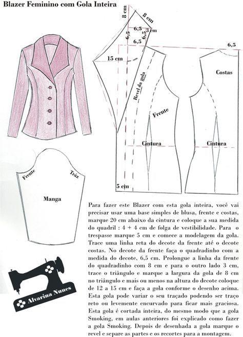 Costura e Modelagem   abrigo d dama   Pinterest   Nähen, Nähen ...