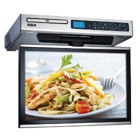 RCA SPS36123 Under Cabinet Kitchen TV