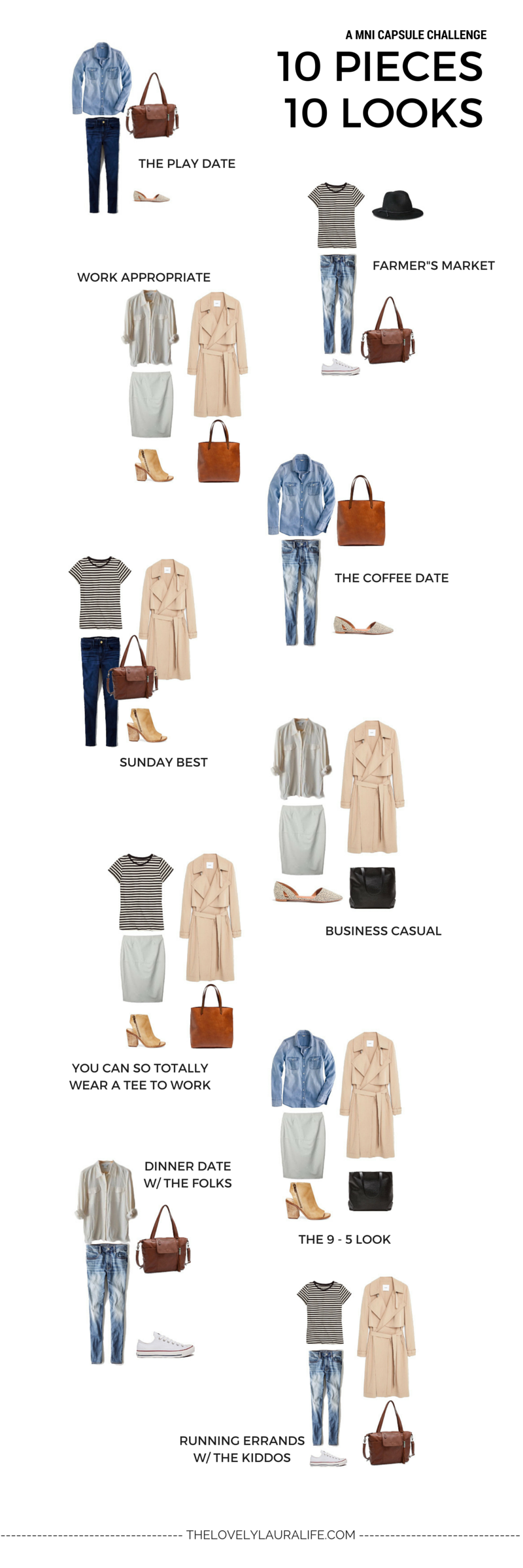 10 X 10 Spring Challenge Recap Pros And Cons Of A Mini Capsule Capsule Outfits Fashion Capsule Capsule Wardrobe