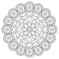 Print And Color Mandalas Online Mandala Coloring Pages Mandala Coloring Coloring Pages