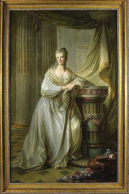 Marie-Auguste Erard de Ray, madame Dupleix de Bacquencourt, marquise de Poyanne (1725-1781), circa 1764, French school