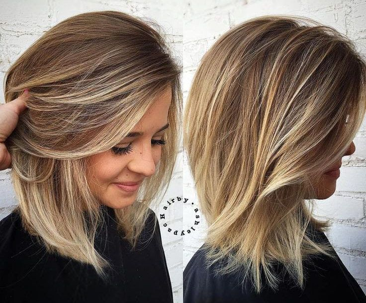 My New Mom Haircut Haircut For Thick Hair Hair Styles Medium
