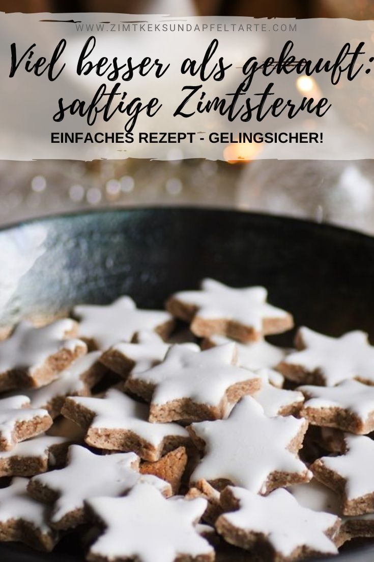 Juicy cinnamon stars – recipe from grandma  – ZIMTKEKS & APFELTARTE – köstliche Rezepte, die gelingen