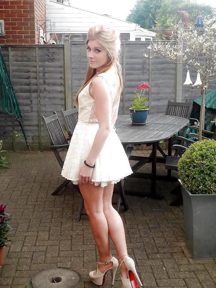 Mini Dress  Mini Dress Poses  Captions, Crossdressers -8123