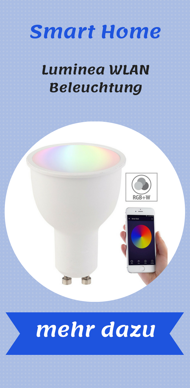 Luminea Wlan Beleuchtung Wlan Led Lampe Komp Mit Amazon Alexa Google Assistant Gu10 Rgb W Smart Lampen Fur Jeden Gu10 Lamp Wlan Led Lampe Beleuchtung