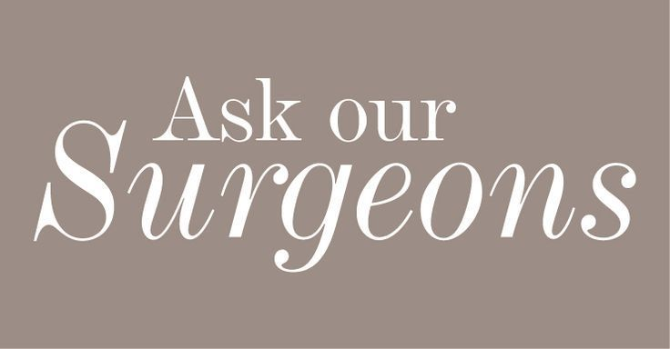 Keep in touch with your surgeon and heed advice for before and after cosmetic su…