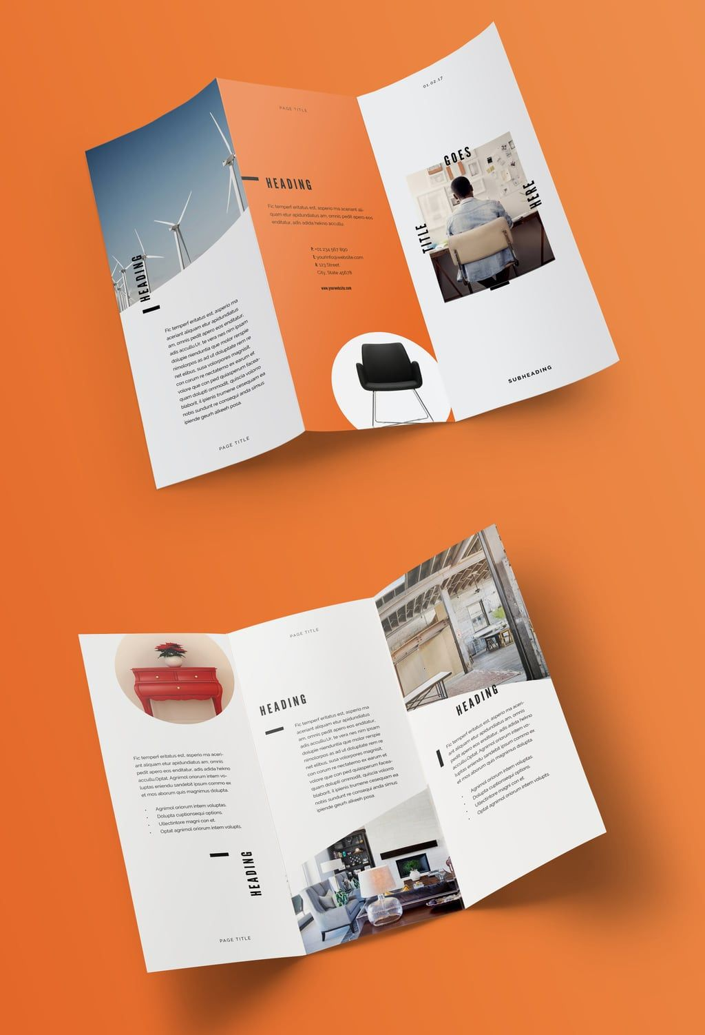 The cool 100 Best Indesign Brochure Templates With Adobe