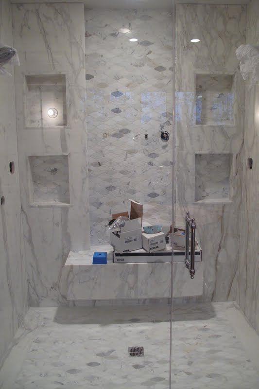 Saltillo Long Octagon Tiles In Callacutta For The Shower